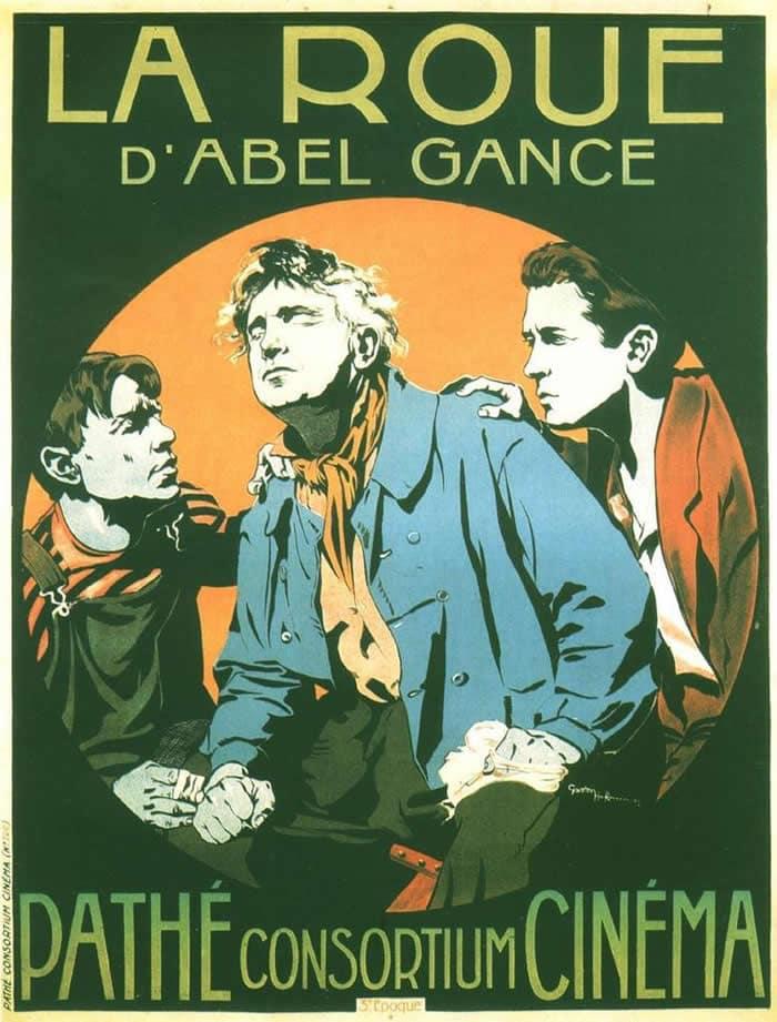 La Roue d'Abel Gance, l'affiche