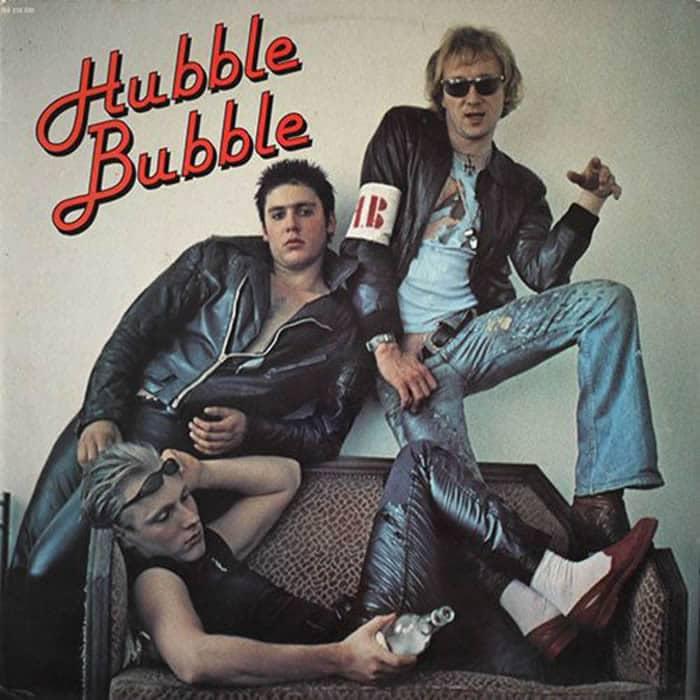 Hubble Bubble avec Plastic Bertrand
