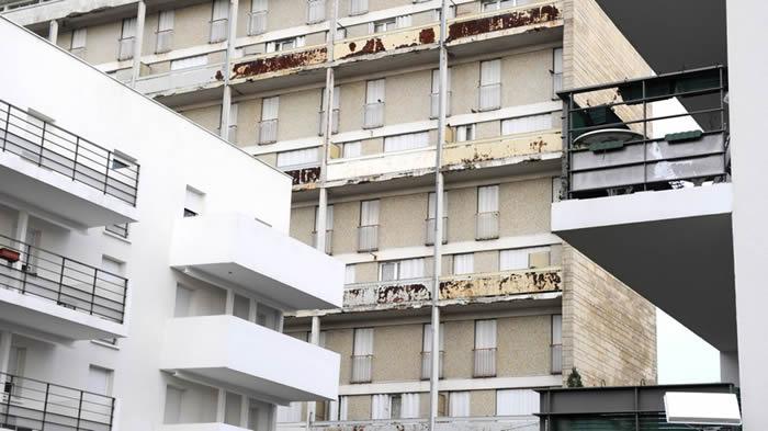 immeubles vides