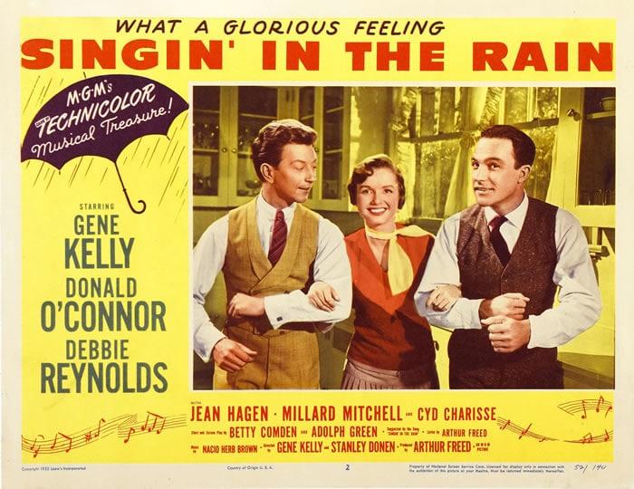 Donald OConnor, Gene Kelly, Debbie Reynolds