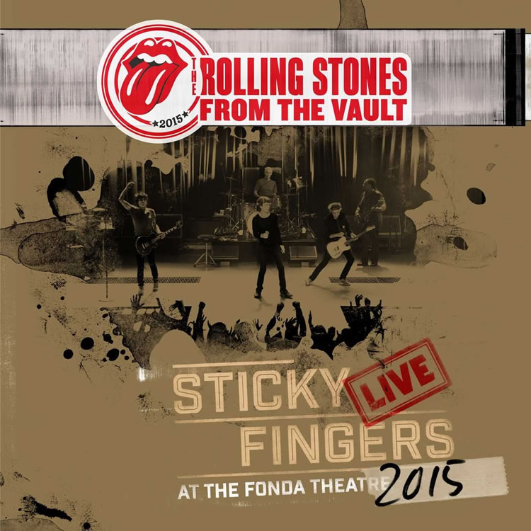 Rolling Stones Sticky Fingers Live