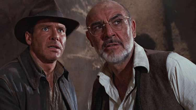Sean Connery et Harrison Ford