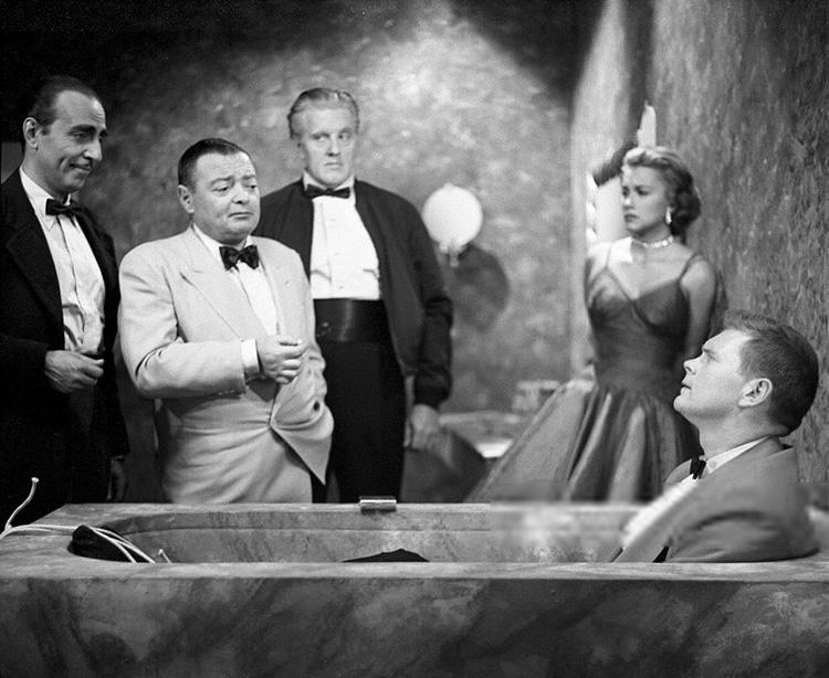 """""""Casino Royale"""" avec Peter Lorre et Barry Nelson"""