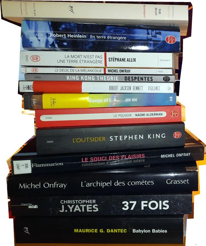 Des livres et des bouquins