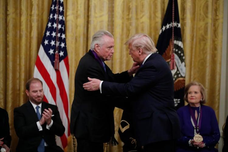 Donald Trump et John Voight