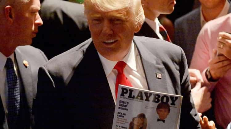 Donald Trump chez Playboy