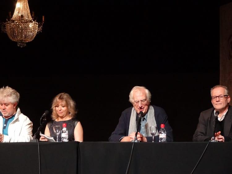 Bertrand Tavernier au festival Lumière à Lyon