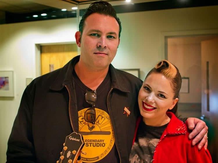Imalda May et son mari Darrel