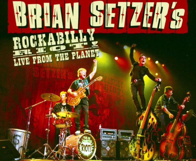 Brian Setzer rockabilly Riot