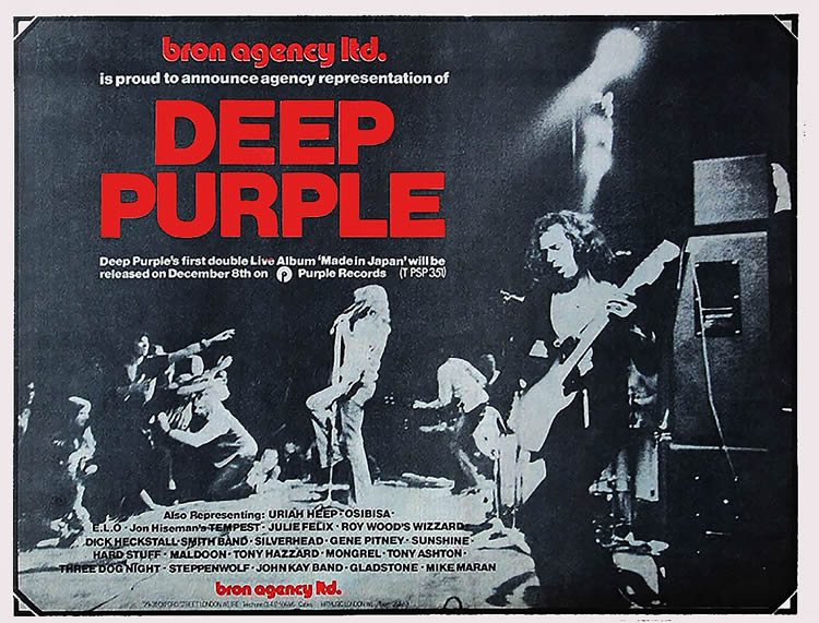 Deep Puple pub Made In Japan