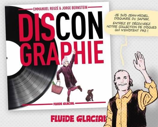 Dsicongraphie Editions Fluide Glacial