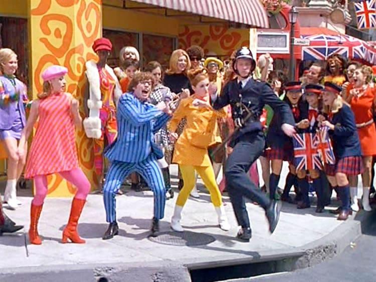 Le swinging London dans Austin Powers