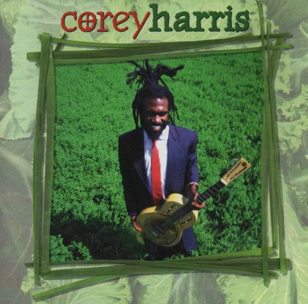Corey Harris album du rasta en cravate.