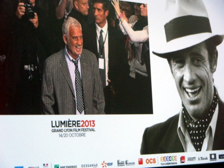Belmondo au festival Lumière 2013