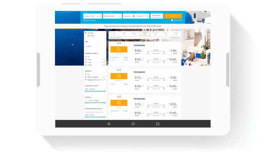 Travel to Greece - Website Development