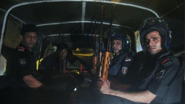 Bangladesh's Rapid Action Battalion was deployed after the Holey Artisan Bakery cafe attack
