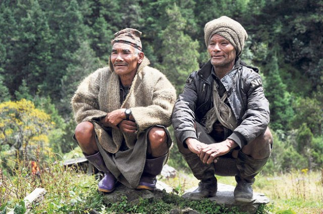 Local people of Narchaing VDC, Myagdi.