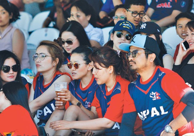 Nepalese at Lord's 2