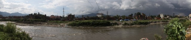 Teku Dovan, where the Bagmati meets the Vishnumati