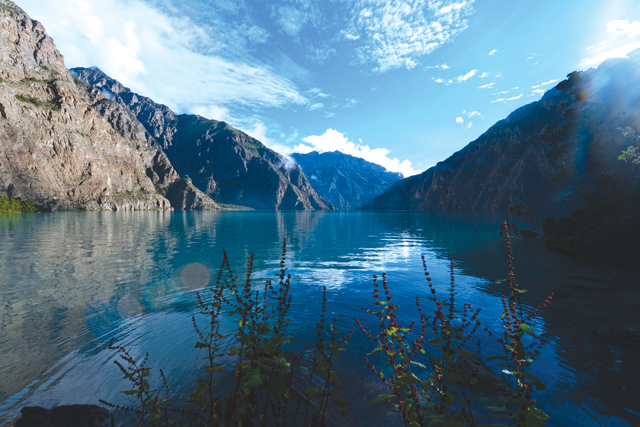 Phoksundo LAKE changes its colour each passing hour from sunrise.