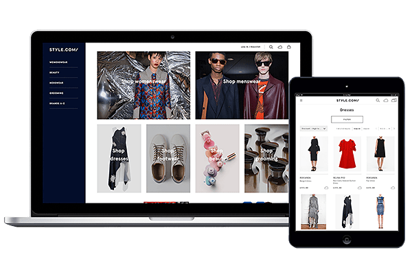 The new Style.com site