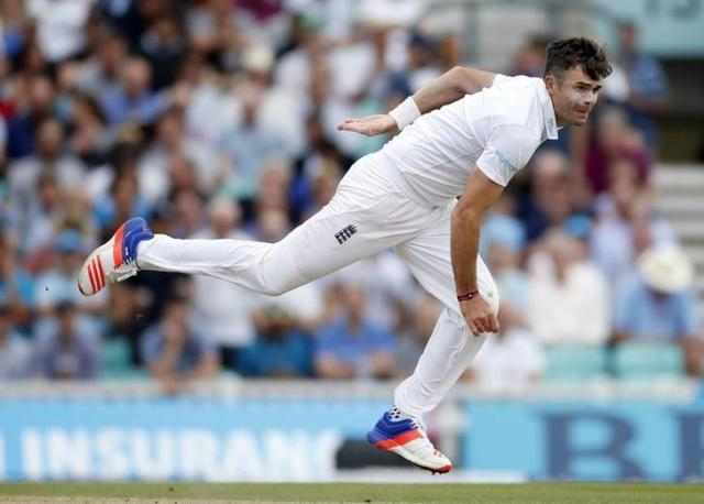 Britain Cricket - England v Pakistan - Fourth Test - Kia Oval - 13/8/16 England's James Anderson in action Action Images via Reuters / Paul Childs