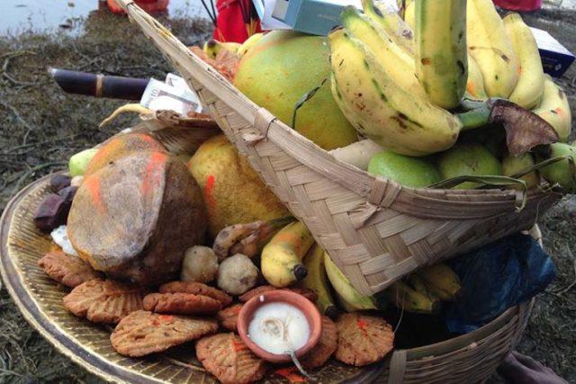Food for Chhath festival