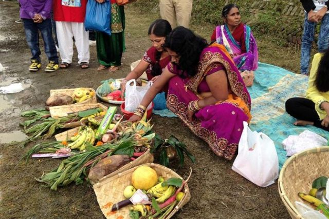 Women Celebrate Chhath festival