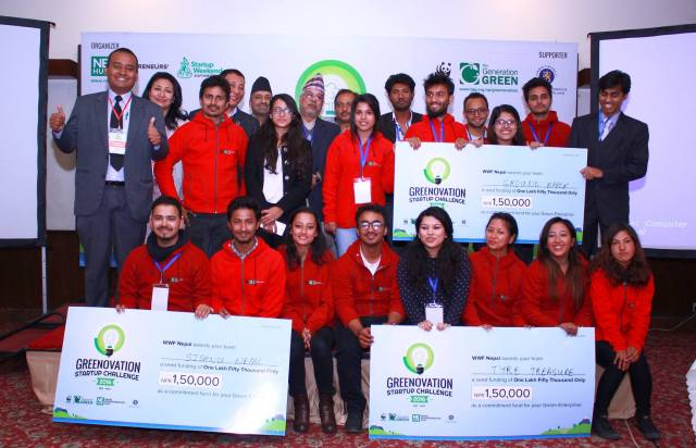 Greenovation Startup Challenge_Winners