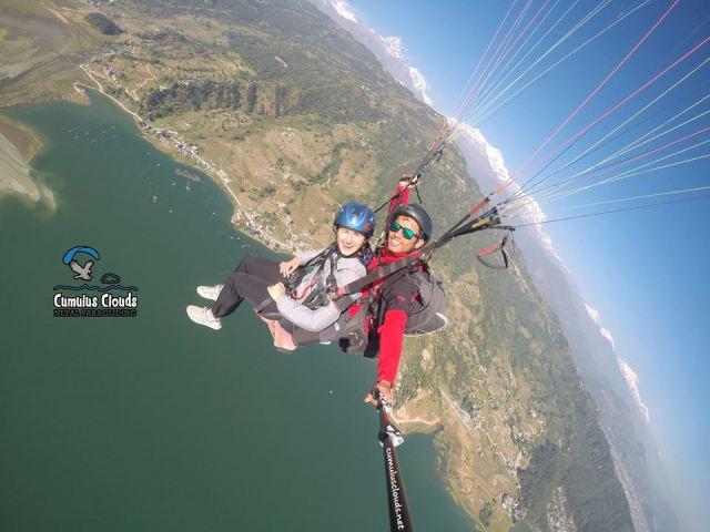 cumulus-clouds-nepal-paragliding-6