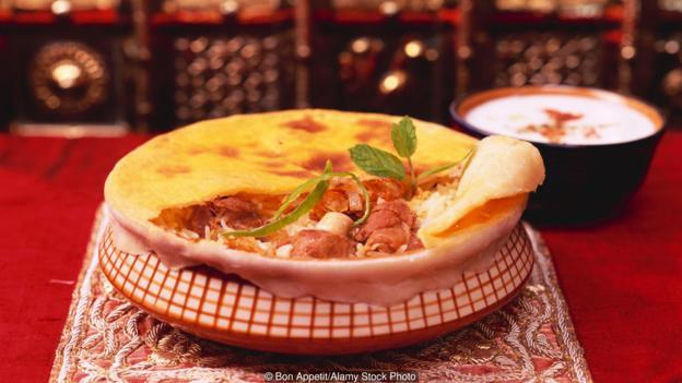 Hyderabad's traditional method of preparing biryani is called dum (Credit: Alamy Stock Photo)