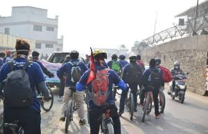 Cycle Rally- Glocal Khabar