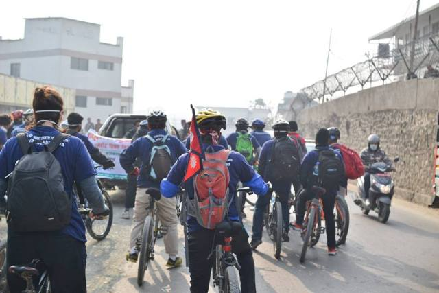 Cycle Rally- Glocal Khabar