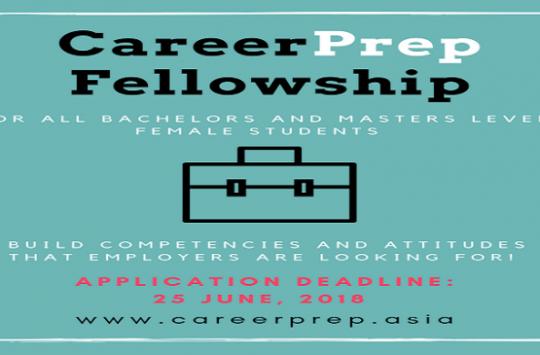 Applications open for CareerPrep Fellowship Cohort 2