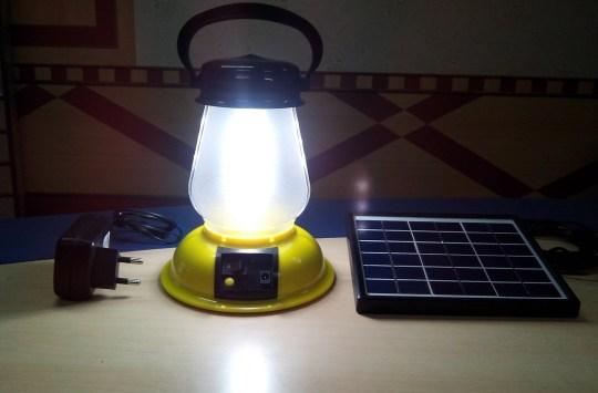 Students in Dadeldhura receive solar lamps to help in capacity development