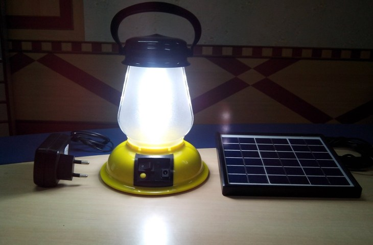 Students in Dadeldhura receive solar lamps to help in capacity development