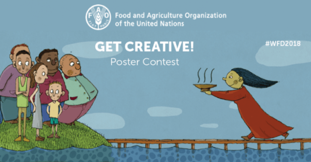 FAO announces poster design contest for youth and children of 5-19 years
