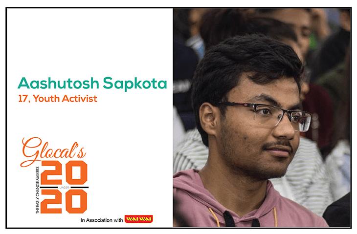 Aashutosh Sapkota: An Emerging Leader