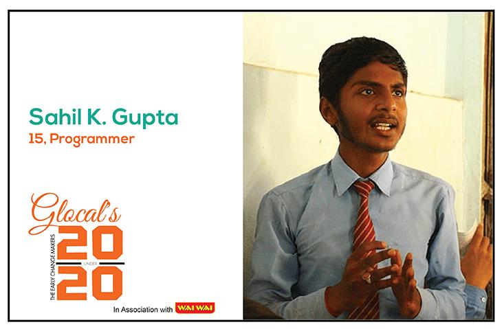 Sahil K. Gupta: a Young Programmer