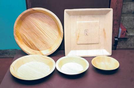 This organization is transforming discarded leaves into dishware