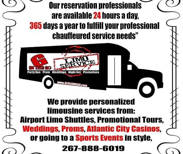 """G on the Go """"Limo Service"""""""