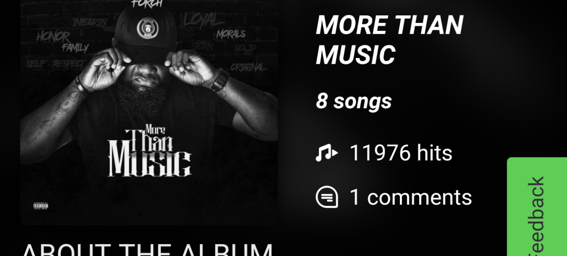 "Check Out @KreForch lastest project ""More Than Music"""