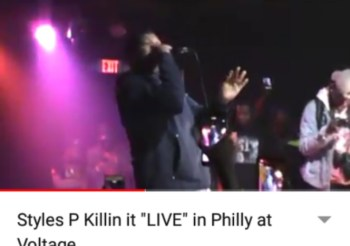 "Styles P Killin it ""LIVE"" in Philly at Voltage"