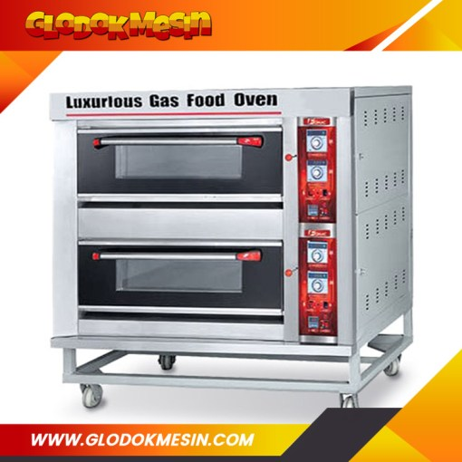 Oven Gas Roti FOMAC 2 Deck