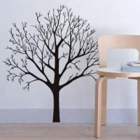 2018 Stylish Tree Branch Pattern Background Wall Sticker ...