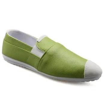 Color Block Design Loafers For Men
