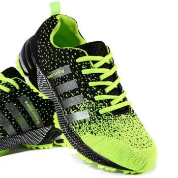 Lace Up Design Athletic Shoes For Men