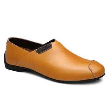 PU Leather Design Casual Shoes For Men