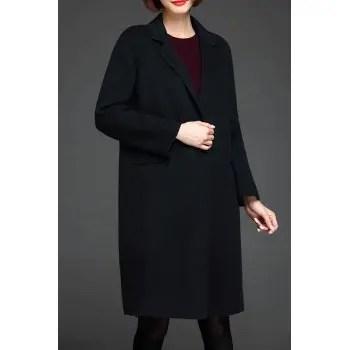Lapel Wool Coat