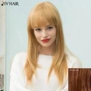 siv hair long neat bang natural